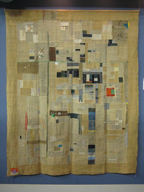 Nostalgia    Kayoko Watanabe  Original Design Quilt Category, 3rd prize 2010 Tokyo  Quilt Festival