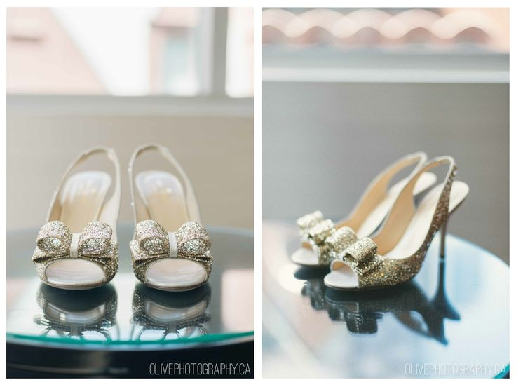 Kate Spade Shoes. Caffino Wedding. Toronto Restaurant Wedding - Olive Photography