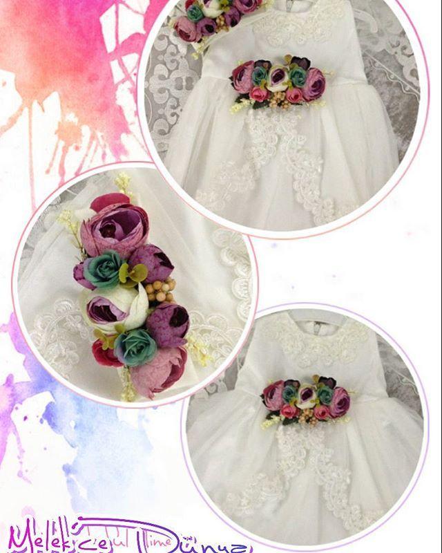 Prensesler özel tasarım elbise. Sipariş için DM' den ulaşabilirsiniz. #prenses #sipariş #kişiyeözeltasarım #kişiyeözel #bursa #elbise #güpür #güpürlüelbise #cocukgelinlik #bebekgelinlik
