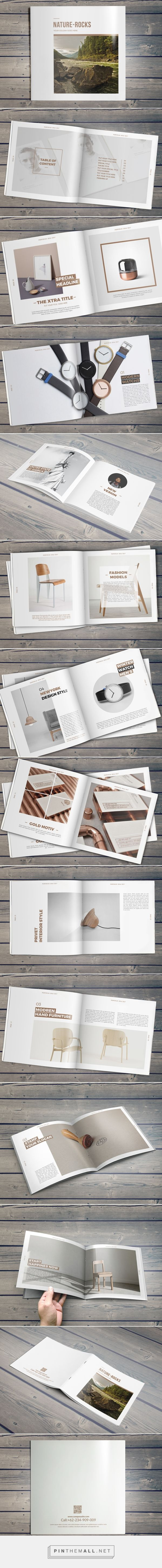 Nature-Rocks Square Portfolio Brochure BY Hazem Tawfik