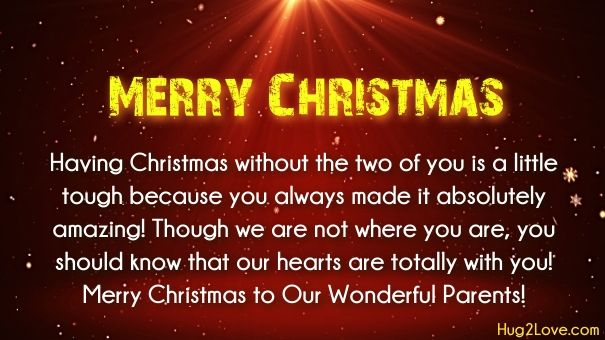 Christmas Wishes To Parents Merry Christmas Quotes Xmas Quotes Christmas Words
