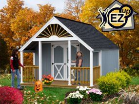 Garden Shed 12x16 Shed Kit