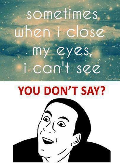 I laughed out loud Hahahahahahahaha