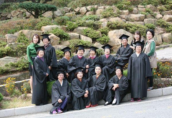 광양평생교육관, 제2회 초등학력인정 문해교육과정 졸업식