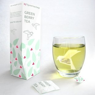 tea bags that turn into different shapes, like a bird - how fun!