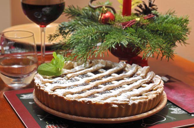 Crostata cu dulceata de prune