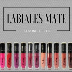 Labiales matte en oferta de la marca #prolux Disponible #bluebluecosmeticsrd