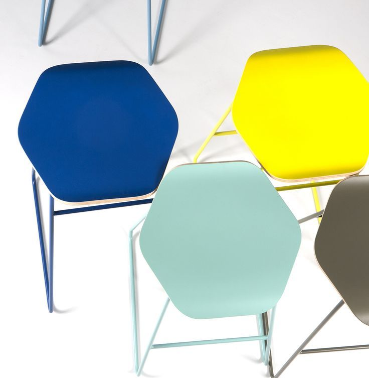 Cell bar stools by WertelOberfell