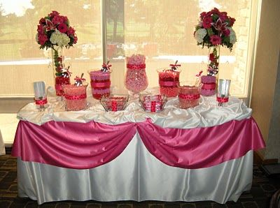 quinceanera candy buffets candy by brandi pink candy buffet