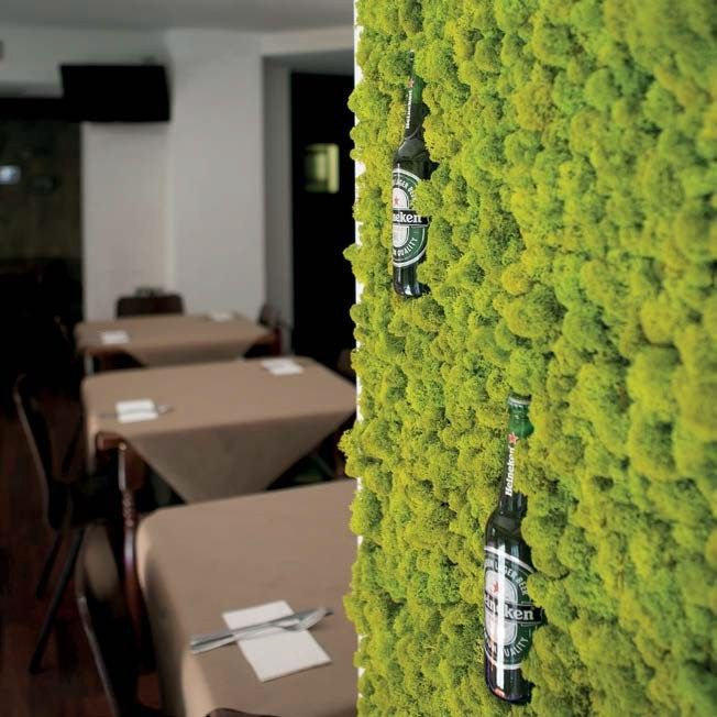 Indoor vertical Garden by @greenarea2