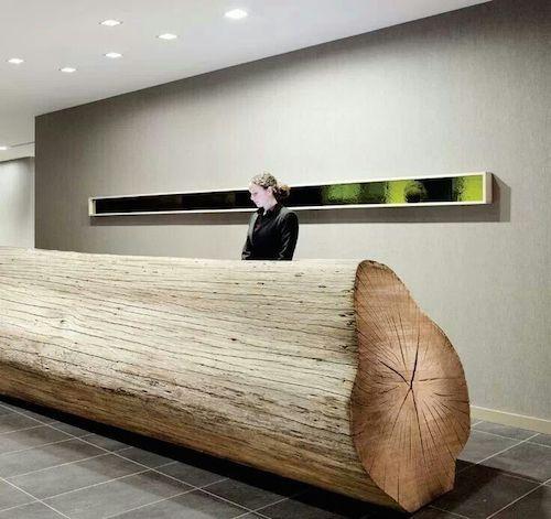 海外ホテルレセプションデザイン