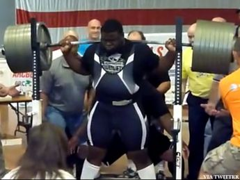 Next time you need motivation at the gym, think of Ray Williams.  The 6-foot, 361-pound Williams is a junior college football coach from Demopolis, Ala...