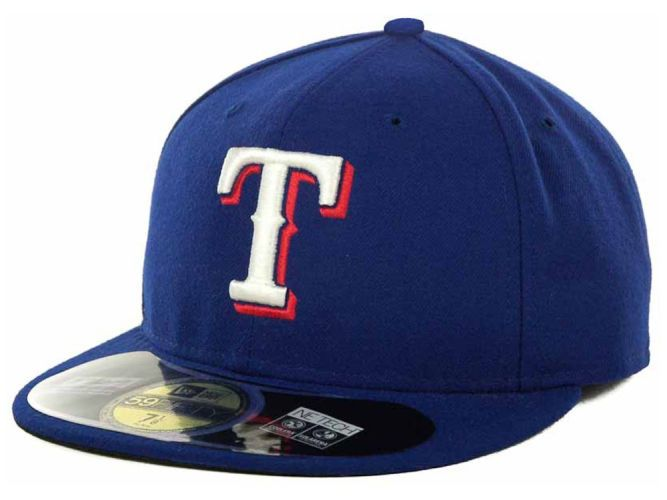 Texas Rangers New Era MLB Authentic Collection 59FIFTY Cap Hats