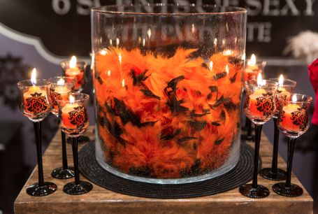Love this trio! #PartyLite #candles #Halloween
