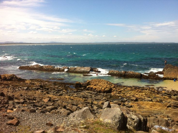 Pebbly beach- Forster, NSW, Australia