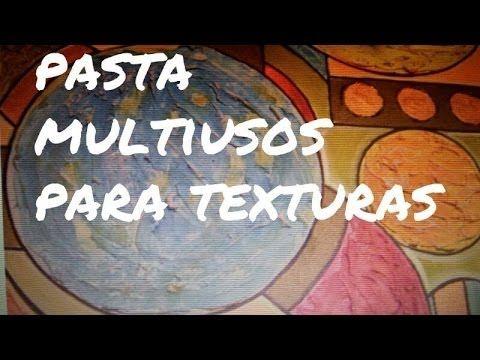 DIY PASTA PARA TEXTURAS Y ESTUCOS - YouTube