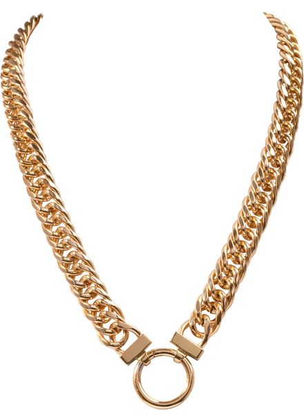 NH02G50 Gold plated necklace 50cm #NikkiLissoni