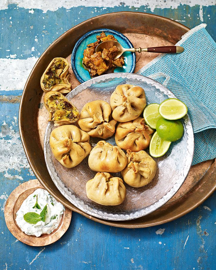 Chef Vivek Singh remembers making these savoury stuffed dough balls, which are originally a rustic meal from northern India, with his father as a child.
