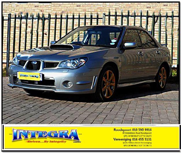 2006 Subaru Impreza 2.5 WRX for sale! For more info kindly contact Integra Motors.