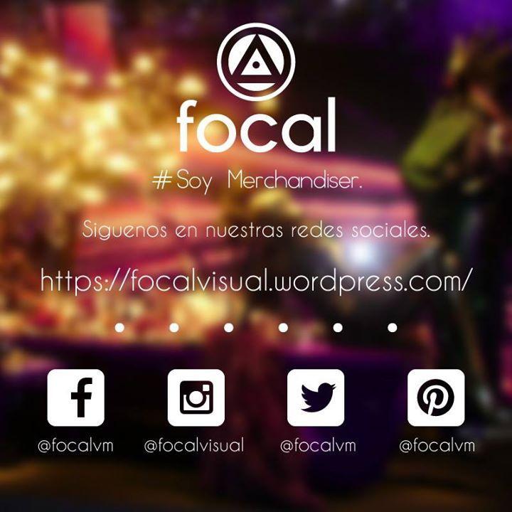 Siguenos en nuestras redes sociales. #soymerchandiser #focal #Retail #marketing #IloveVM #AmoelVisualMerchandising #social