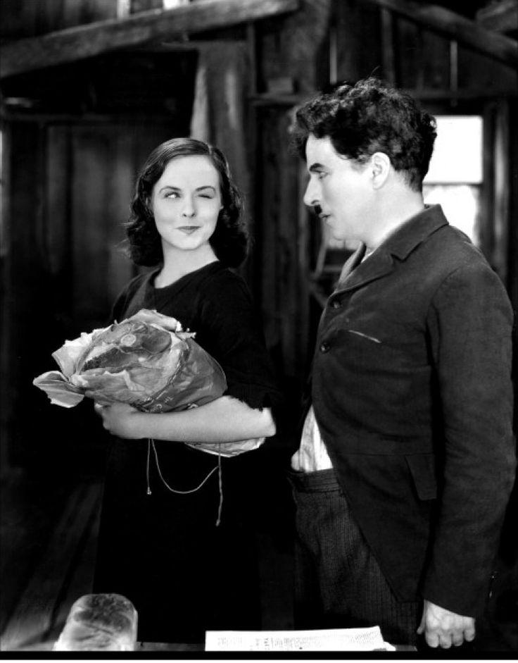 paulette goddard | Paulette Goddard & Charlie Chaplin
