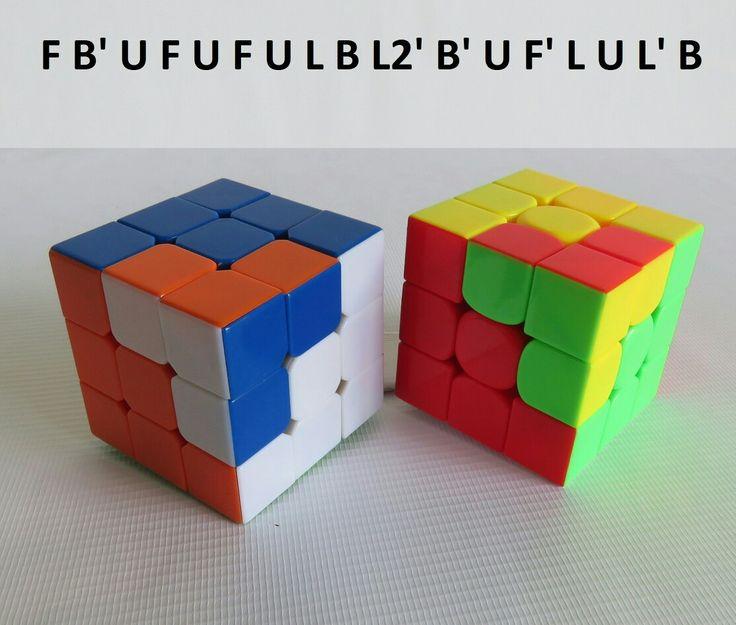 Patron Cubo Rubik 3x3 Figura N. 4 por WL Rubik 3x3