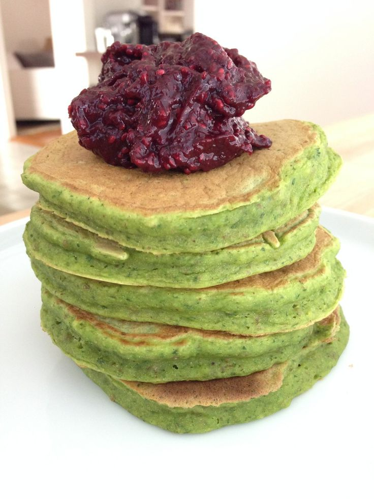 Healthy Spinach Pancakes for Kids