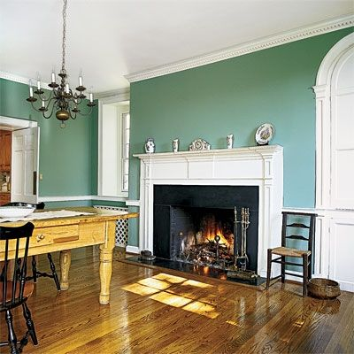 99 best images about molding wainscoting on pinterest for Living room with 9 foot ceilings