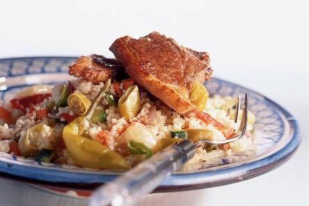 Lamskoteletjes met couscous - Recept - Allerhande - Albert Heijn