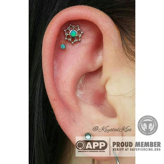 78 ideas about double cartilage piercing on pinterest for Heart tattoo nipples