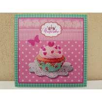 Cuadros De Cocina Shabby Chic Cupcakes Arma Tu Set 20x20 Cm