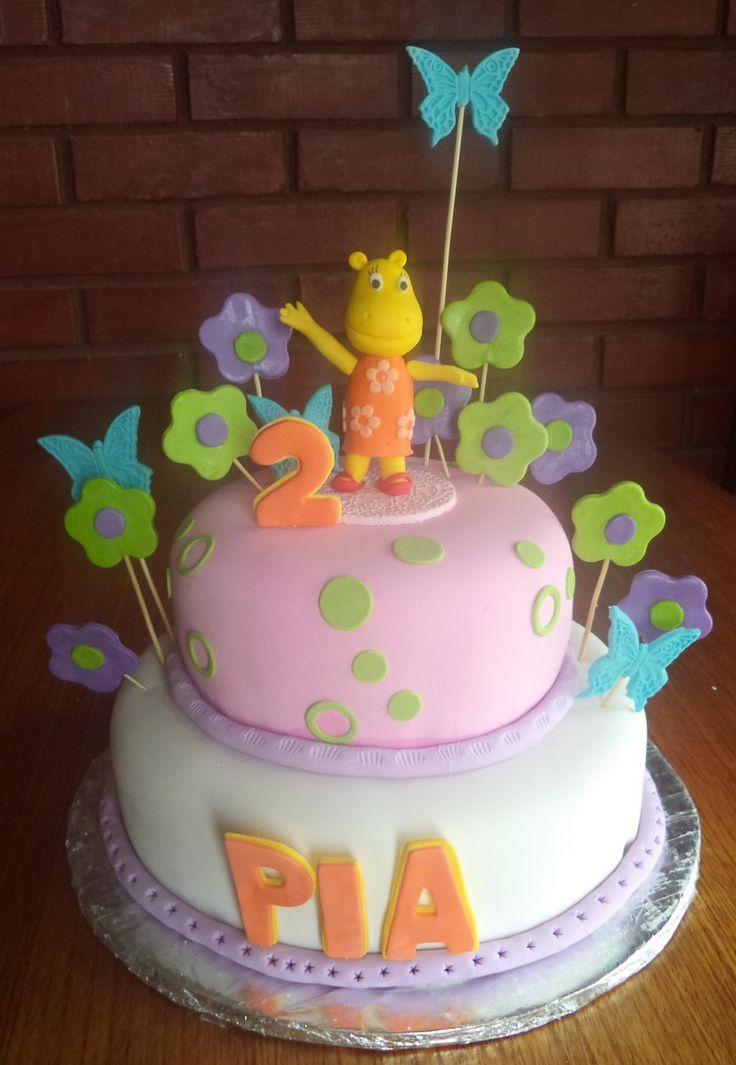 #Tasha #Backyardigans #cake creada por @VolovanProducto