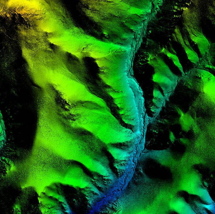 Laser Survey, Atacama Chile