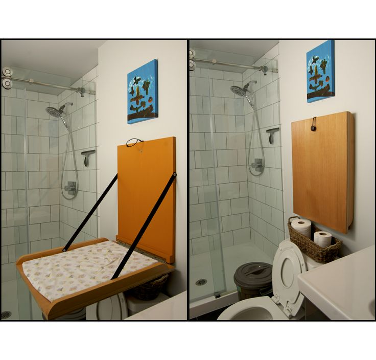 Website Picture Gallery This is a change table we made to fit above our toilet The mat is