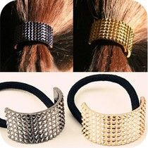 Choking mouth peppers European fashion catwalk hair metal semicircle ring jewelry wholesale hair accessories  free shipping #Affiliate