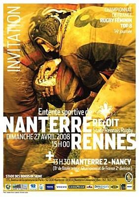 Nanterre - Rennes