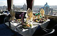 Enjoy a meal at the legendry revolving restaurant.