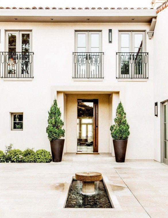 65 best luxe bedrooms images on pinterest bedroom suites - Modern mediterranean house exterior ...