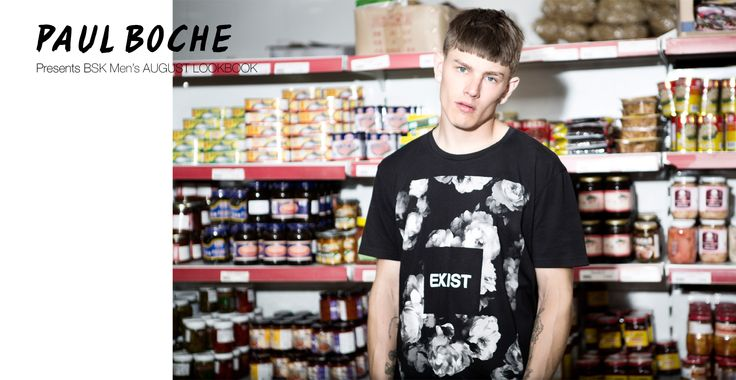 """BSK MAN"" Our Men's August Lookbook #skate #male #fashion #urban #street #bershka http://bers.hk/nnman"
