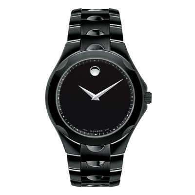 Men's Movado Luno Sport Watch with Black Museum® Dial (Model: 0606536)