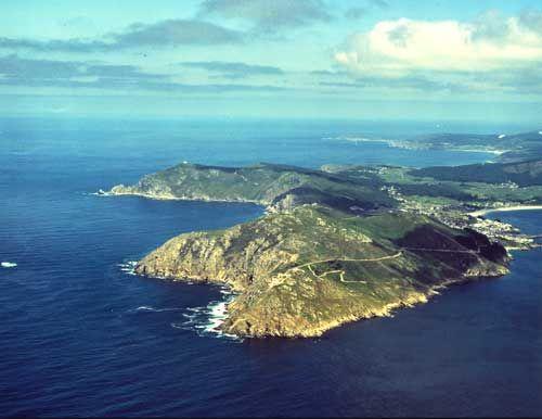 Cabo Finisterre, Galicia, España
