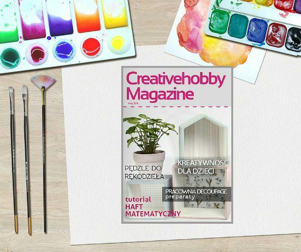 Odkryj świat rękodzieła w majowym numerze Creativehobby Magazine: http://bit.ly/1ST5Qw0 #decoupage #cardmaking #DIY #inspiracje