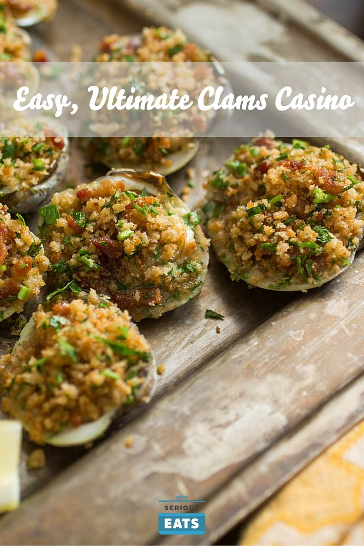 This clams casino is layered with flavors, but easy to prepare.