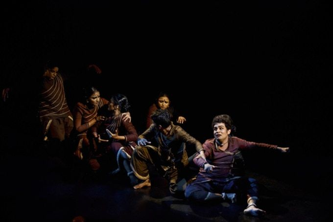"""""""Amazing"""" """"Emotive"""" """"A milestone for Singapore Indian dance"""" """"Courageous"""" were some of the accolades heard during Apsaras Arts premier of Agathi."""" - Esplanade Theatres on the Bay, Singapore"""