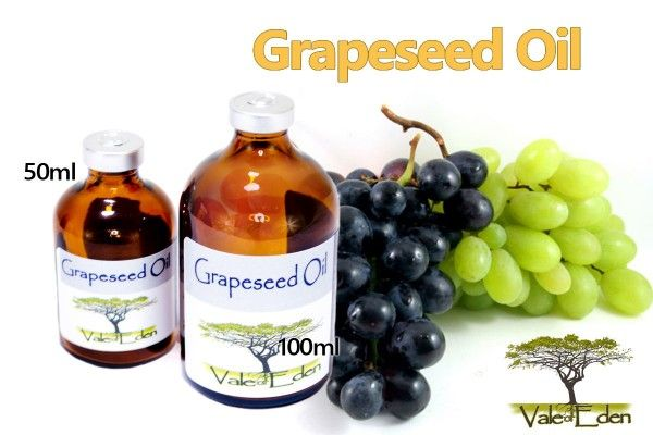 Pure Grapeseed Oil-100ml in serum vial (bottle) | Med Lab Supply