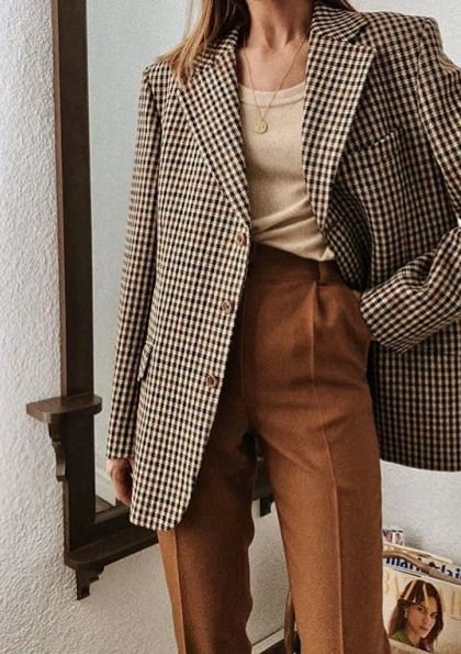 Über 30 stilvolle Möglichkeiten, übergroßen Blazer zu tragen, fallen dies aus