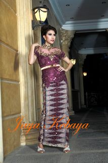 beautiful kebaya modern dress 2016 - silver