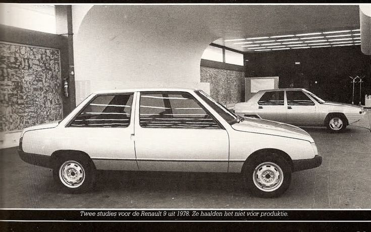 Renault 9 Prototype from '78