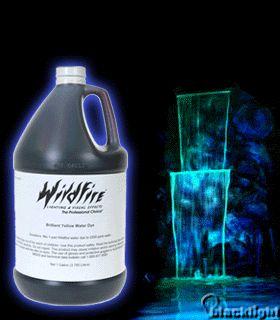 WF180GL - Wildfire Blacklight Reactive Luminescent WATER DYE - Gallon