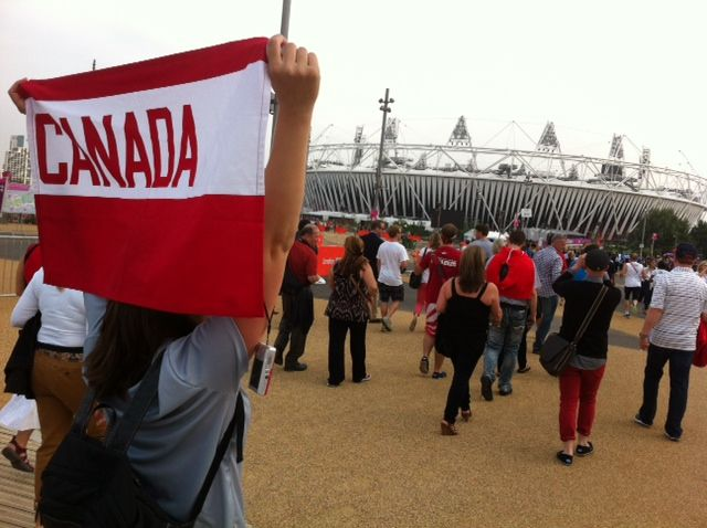Canada at Olympic Mall #London2012